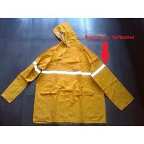Impermeable Motorizado Amarillo 2 Piezas Pantalon Y Chaqueta