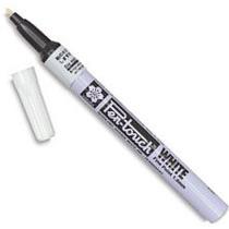 Caneta Marcador Permanente Pen Touch Sakura 1mm Branca