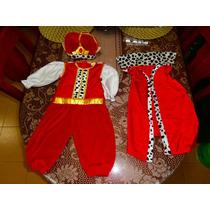 Disfraz De Principe Color Rojo Talla 18 Meses A 2 Años