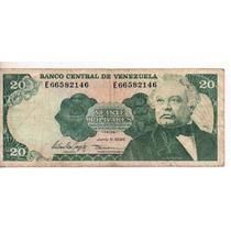 Venezuela 20 Bolivares Año 1995 Bm 2175