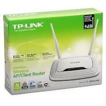 Roteador Tp-link Tl-wr843nd + Cliente + Ap Poe 300mbps