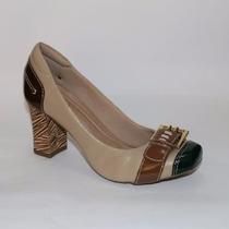 Sapato Feminino De Couro - Scarpin - Neftali - Promoção