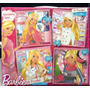 Barbie Puzzles X 4 Con Brillitos Quiero Ser Con Base De Goma