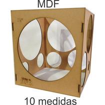 Medidor De Balões Mdf 3mm -bexigas, Arco De Balões, Festas