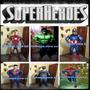 Alquiler Disfraz Super Heroes Iroman,capitan America,hulk Y+