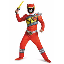 Disfraz Power Ranger Dino Charge Original 7/8 Años Entrega I
