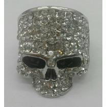Anillo Skull Calavera Antrax Punisher Silver Plateado