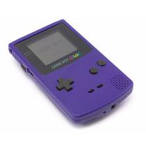 Game Boy Color Purple / Roxo Zero Novo
