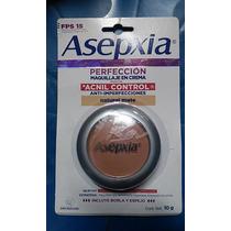 Asepxia Autentico Original Maquillaje Crema Natural Mate Fps