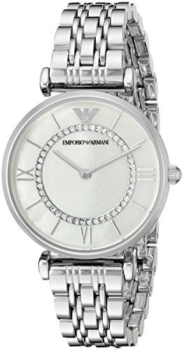 814f87f3ce44 Reloj De Plata Retro Ar1908 Emporio Armani Para Mujer -   11.293
