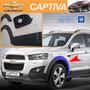 Chevrolet Captiva - Molduras De Guardafango Y Puertas