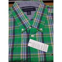 Camisa Tommy Hilfiger Hombre Talla M - L - Xl Mangas Cortas