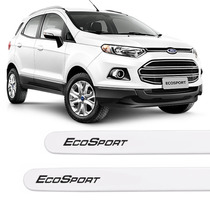 Friso Lateral Novo Ford Ecosport 2016 Branco Ártico