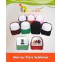 Gorras / Personalizadas / Sublimación