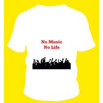 Remera Rave Music Recital Pogo Estampadas En Vinilo