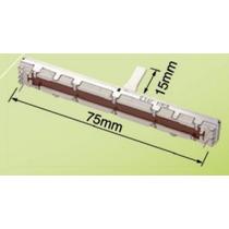 24 Potenciometro Fader Deslizante D10kx2 Mesa Som Behringer