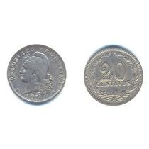 Argentina, Moneda De 20 Centavos De Cuproniquel, 1930-