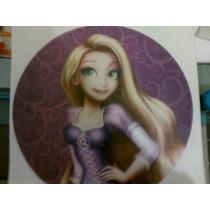 Lamina Comestible Personalizada Fototorta Rapunzel Tangled