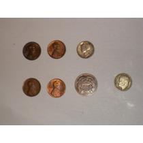 Antiguas Monedas De Estados Unidos