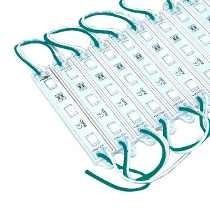 Módulo Led Para Letra Caixa 3 Leds 5050 Verde