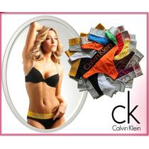 Lote 5 Tangas Calvin Klein Steel Panties Boxers Originales