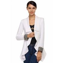 Blazer Saco Mujer Irregular Moda Japonesa Envío Gratis Dhl