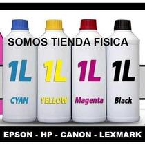 Tinta Color Y Negro Para Hp, Epson, Canon, Lexmark 1litro