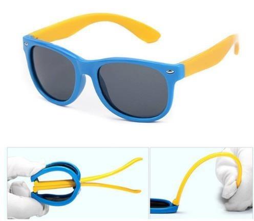 8667fac19a071 Oculos De Sol Flexivel Infantil Criança Polarizado Unissex - R  90 ...