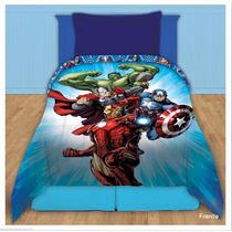 Acolchado Avengers Los Vengadores Premium Piñata 1 Y 1/2 Pza