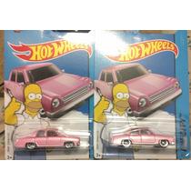 Hot Wheels Los Simpsons Homero The Simpsons Familia Rosa