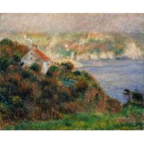 Lienzo Niebla En Guernsey Auguste Renoir Francia 50 X 62 Cm