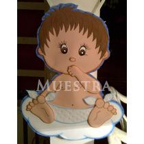 Baby Shower Bebe -bienvenidos Nacimiento Decoración En Foami