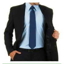 Terno Masculino Slim Preto Corte Italiano Oxford