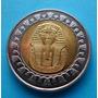 Moneda Egipto Bimetálica Tutankamon ( N C )