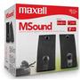 Bocinas Cornetas De 2.0 Maxell M-sound Ss-201