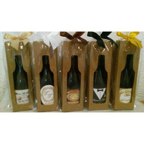 Mini Vinho Personalizado - Garrafinha 80ml+caixinha