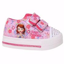Zapatillas Disney Princesa Sofia C/luces Addnice