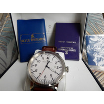 Relógio Suiço Revue Thommen,safira, Automático, Usado.