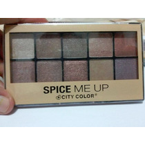 Paleta De Sombras City Color Spice Me Up