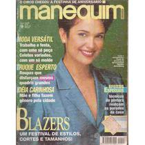 Manequim Nº 423 Março De 1995 Com Moldes Sandra Annemberg