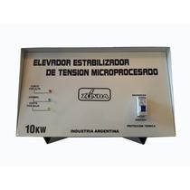 Estabilizador Tension Automatico Luz 10 W Elevador Nacional