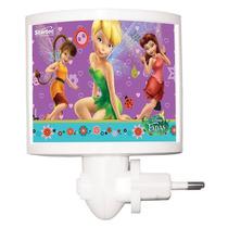 Mini Abajur Led Fadas Disney Original Startec