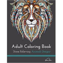 Libro Adult Coloring Book: Stress Relieving Animal Designs