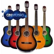 Guitarras Criollas Funda Full Dvd Afinador Curso Pua Gtia +