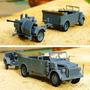 Jeep Steyr 1500 2da, Guerra Mundial Artillería Germana 1943