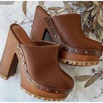 Plataformas Sandalias Suecos Mujer Moda Calzado Dama Zapatos
