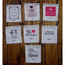 12 Bolsitas Dia Del Amigo Personalizadas Souvenirs Regalo