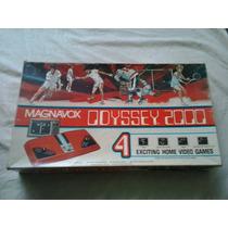 Console Odyssey 2000 - Jogos Odyssey - Games Antigos