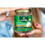 Oleo De Coco 200ml 2 Potes Extravirgem 100% Natural