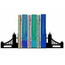 Suporte Aparador De Livros Dvd Cd Ponte De Londres
